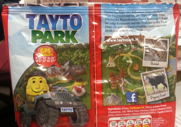 Potatohontus - Irish Tayto crisps