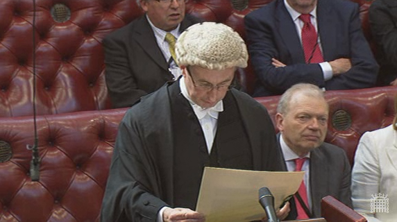 The Clerk of the Parliaments